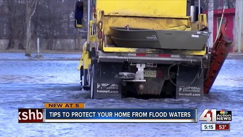 Tips to protect your home from flood waters