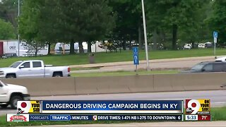 Dangerous driving campaign begins in KY