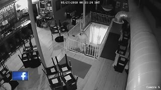 Oshkosh Police searching for burglary suspect in Oshkosh - Video