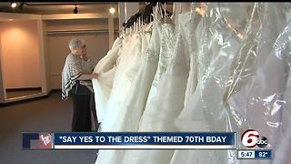 'Say Yes to the Dress' themed 70th birthday - Video