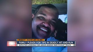 Hillsborough County deputies searching for driver in fatal hit-and-run - Video