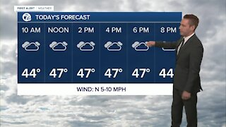 Metro Detroit Forecast: Chilly final week of October