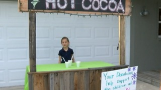 Young girl raised money for Grandma's Place - Video