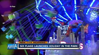 Six Flags Great America will stay open until New Year's Eve this year - Video