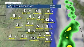 More showers possible Wednesday tonight with lows in the 40s