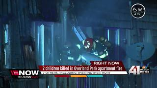 2 kids dead, 7 others hurt in OP apartment fire - Video
