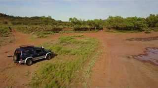 Drone Footage Reveals Green Growth at Red Centre - Video