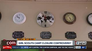 Girl Scouts camp closure controversy - Video
