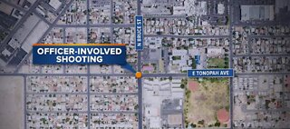 NLVPD: Man lunged at police before being shot