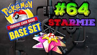 Pokemon Base Set #64 Starmie | Card Vault