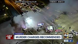Phoenix police recommending murder charges against teen in deadly stolen SUV crash - Video