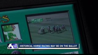 Historical horse racing could be on November ballot