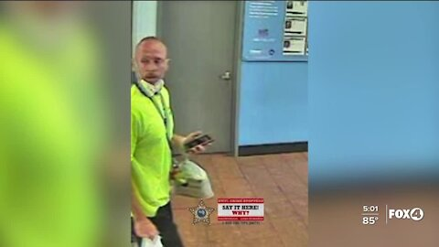 Man wanted for bomb threat