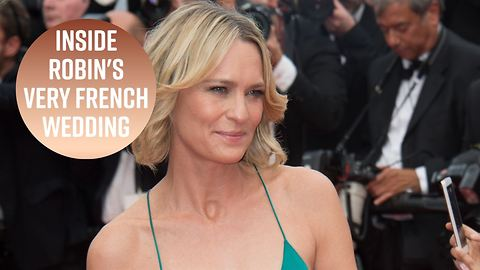 Robin Wright has bohemian wedding in the South of France