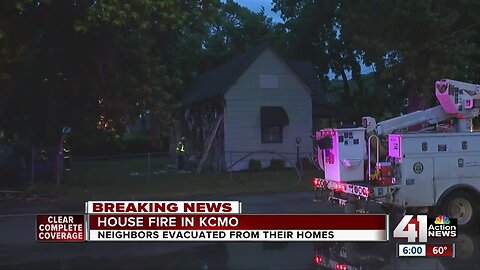 3 homes damaged, no one injured in early-morning house fire