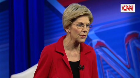Elizabeth Warren Sternly Denounces White Supremacy at CNN Town Hall