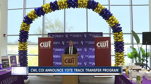 CWI COI Yote Track program