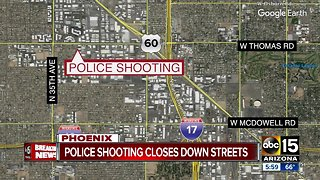 No officers injured following shooting in west Phoenix