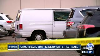3 injured in crash at 15th and Stout in downtown Denver