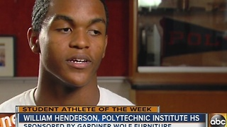 Student Athlete of the Week-- William Henderson - Video