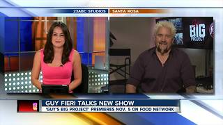 Guy Fieri talks Bakersfield and new show - Video