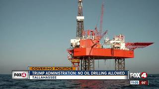 Trump administration says no oil drilling off Florida coast
