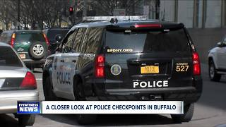 Where are the most police checkpoints in Buffalo? - Video