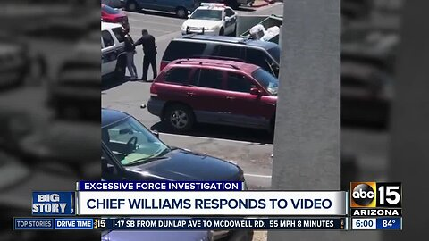 Phoenix police chief responds to controversial arrest video