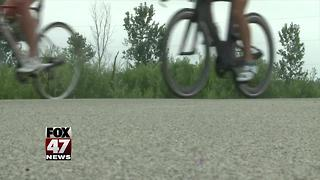 Michigan State Police are cycling, raising money for Special Olympics - Video