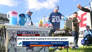 Detroit Lions Green Bay Packers on Monday Night Football