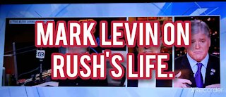 Mark Levin on Rush