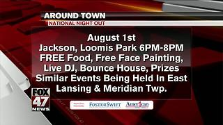 Around Town 7/31/17: National Night Out - Video