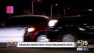Valley car crashes impacting your insurance rate - Video
