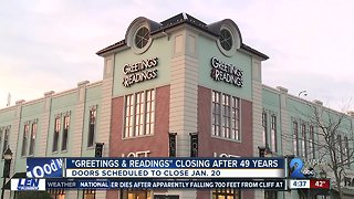 Greeting & Readings announces they are closing their doors after 49-years