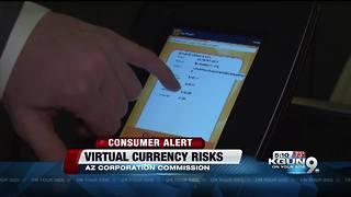 Warning for virtual currency investors - Video