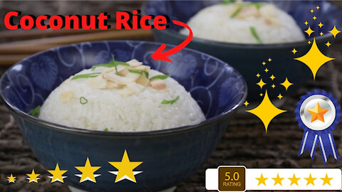 Coconut Rice - A Delicious and Very Easy Rice Recipe