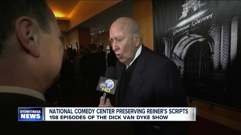 National Comedy Center to digitally preserve Dick Van Dyke Show scripts