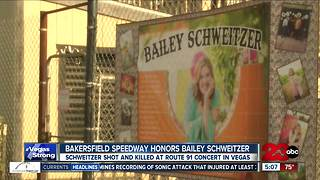 Remembering Bailey Schweitzer at the Bakersfield Speedway - Video