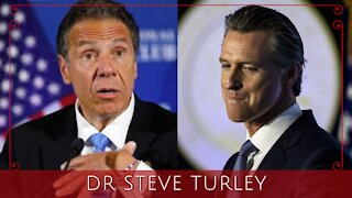 Newsom CAUGHT AGAIN Violating His Own COVID Orders as Cuomo On Verge of COLLAPSE!!!