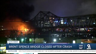 Brent Spence Bridge: Unknown when crucial bridge might reopen after fiery crash