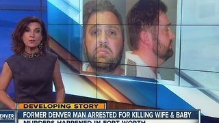 Man suspected of murdering wife, infant son in Texas arrested in Glenwood Springs - Video