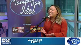 Tampa Bay Idol Audition: Valeria Ruiz - Video