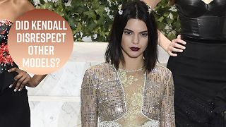 Kendall defends her comments against other models