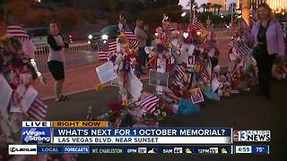 1-October memorial being moved Sunday - Video