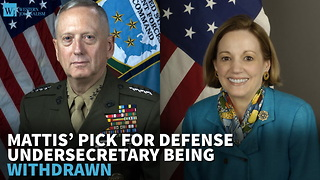 Mattis' Pick For Defense Undersecretary Being Withdrawn - Video