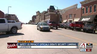 Lawrence police want more surveillance cameras - Video