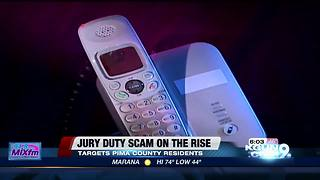 Jury duty phone scam targeting victims - Video