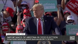 Importance of Arizona in 2020 election