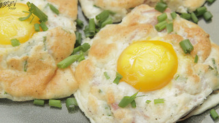 Baked Cloud Eggs - Full Recipe - Video