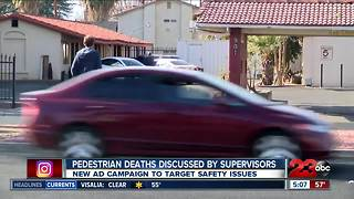 Board of Supervisors discuss pedestrian deaths - Video